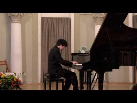 Mao Fujita plays Prokofiev's Sonata no.7