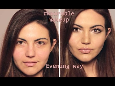 Wearable makeup - The Evening Way