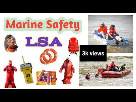 Marine Safety & Life Saving Appliances In Hindi   मरीन सुरक्षा & जीवन रक्षक उपकरण