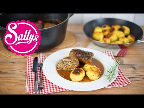 Rinderrouladen mit Rosmarinkartoffeln / Sallys Welt