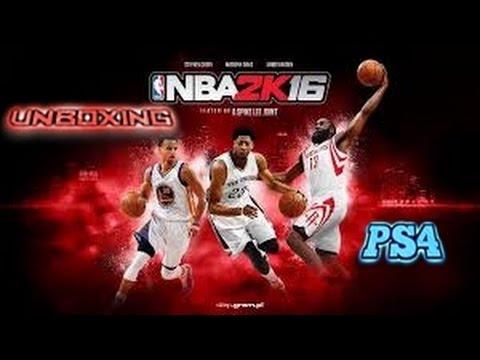 |UNBOXING NBA 2K16 PS4| JUEGAZO!!!  |FUNNY MOMENTS|