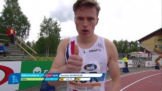 Cover images 400m Hurdles Men Final - European Athletics Team Championships First League Vasaa 2017