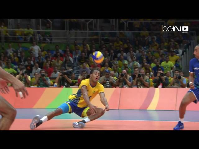 Brazil beat Italy to win men's volleyball gold
