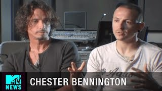 Chester Bennington & Chris Cornell on Working Together | MTV News