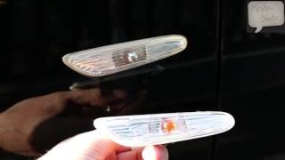 Inlocuire semnalizator aripa BMW Seria 3   E90