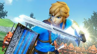9 Minutes of Hyrule Warriors Definitive Edition Gameplay on Nintendo Switch - PAX East 2018