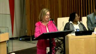 Prof. Anne Bayefsky condemns Antisemitism @ UN on Sept 8, 2014