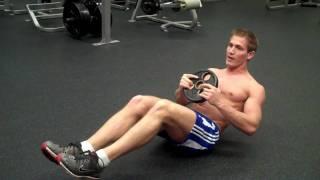 How To: Alternating Floor Oblique Twist w/ Weight