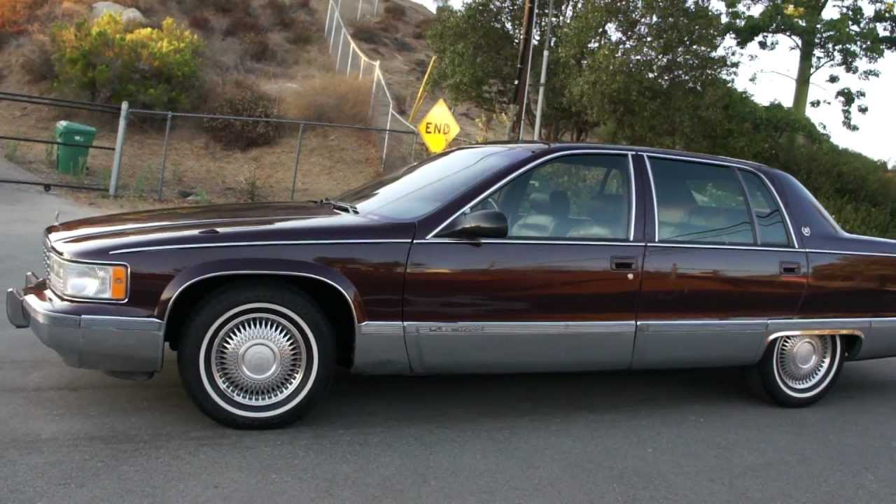 1995 Cadillac Fleetwood Brougham 5 7 350 Bubble Body Youtube