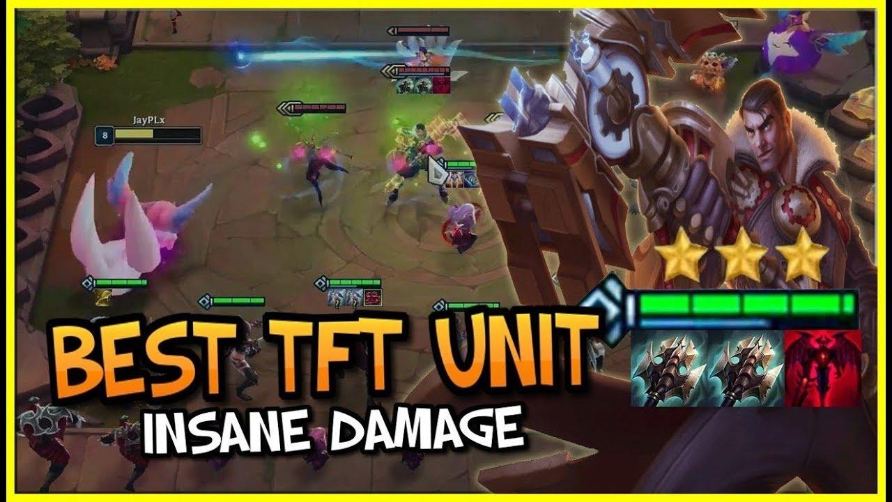 New Best TFT Unit? (Broken)   TFT Highlights & Best Moments   Teamfight Tactics