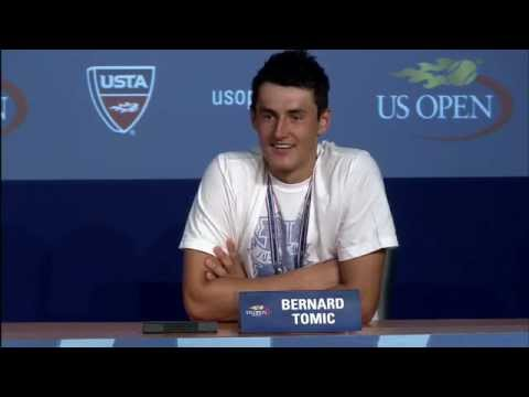 2011 US Open Press Conferences: Bernard Tomic (First Round)