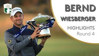 Bernd Wiesberger Winning Highlights | 2019 Aberdeen Standard Investments Scottish Open