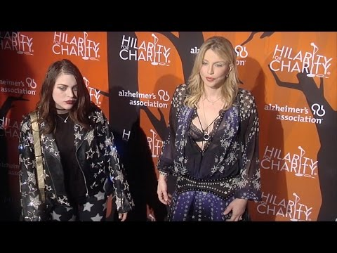 Courtney Love & Frances Bean Cobain at Hilarity for Charity's 5th Annual LA Variety Show