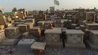 وادي السلام في العراق أكبر مقبرة في العالم
