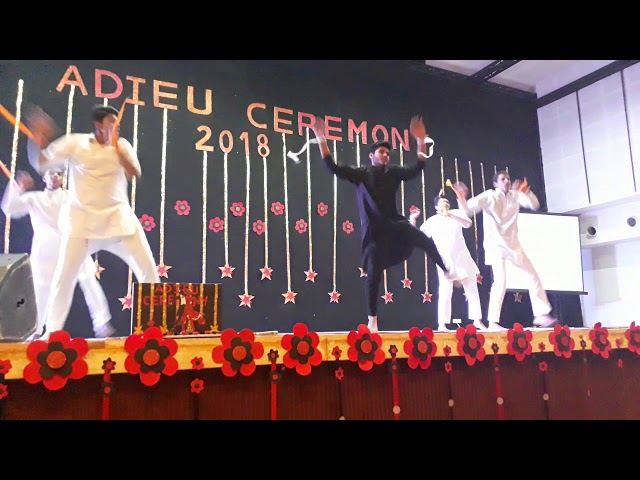 Dance Performance by St  Wilfred Schools Students on ADIEU Ceremony 2018