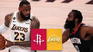 Houston Rockets vs. Los Angeles Lakers [GAME 5 HIGHLIGHTS] | 2020 NBA Playoffs