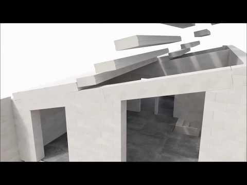 Bauroc mājas būvniecības komplekts no pamatiem līdz jumtam