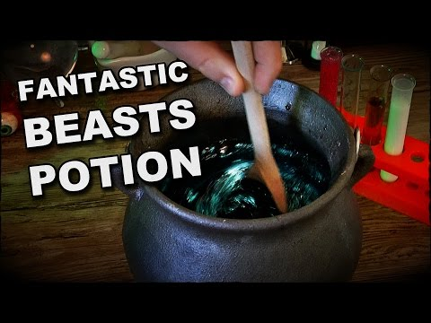 How To Brew A Potion To Make Your Own Fantastic Beasts