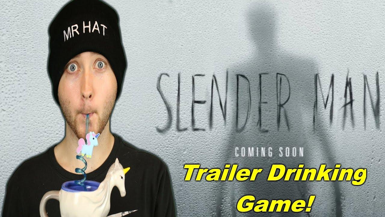 Slender Man Trailer 2 Reactiondrinking Game Youtube