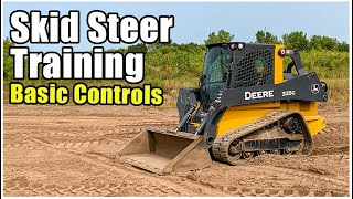 How to Operate a Tracked Skid Steer Loader | CTL Basic Controls Training