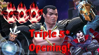 Triple 5-Star Crystal Opening! Namor Arena Prep! - Marvel Contest of Champions