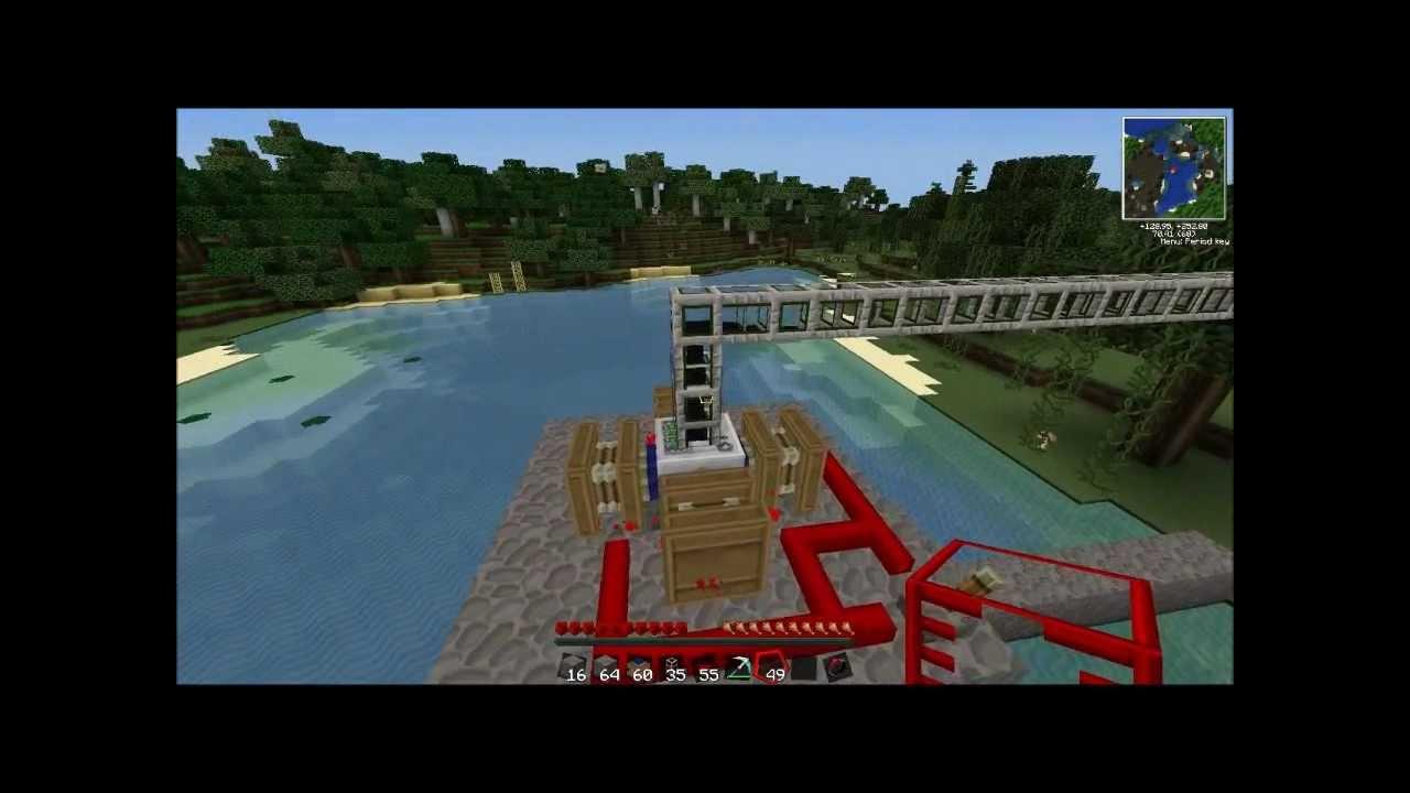 how to set up a minecraft pump