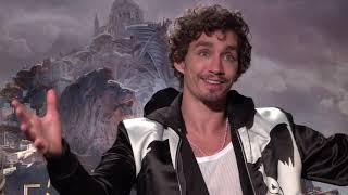Robert Sheehan & Leila George Interview: Mortal Engines