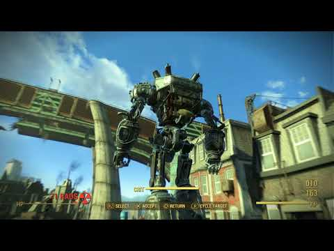 Fallout 4 time to start  liberty prime