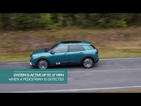 New C4 Cactus Hatch Active Safety Brake