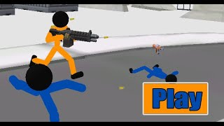 Stickman Prison: Counter Assault Full Gameplay Walkthrough