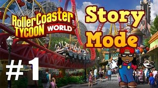 Lets Play RollerCoaster Tycoon World (Story Mode) - Part 1