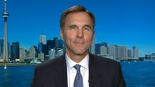 Finance Minister Bill Morneau comments on increased interest rates and carbon tax