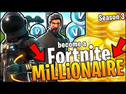 BECOMING A SEASON 3 FORTNITE MILLIONAIRE!! (Battle Pass, New Skins) // Fortnite Battle Royale