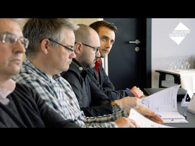 Seminar: Beschaffung von Maschinen (Akademie Herkert)