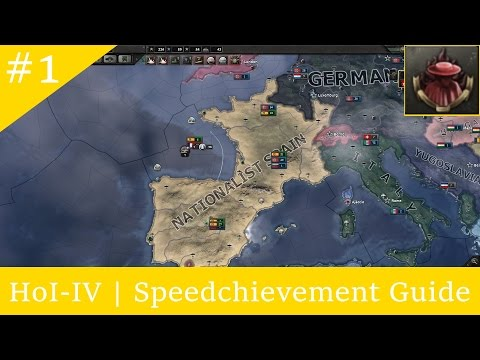 HoI-IV | Speedchievement: Nobody Expects... (The Spanish Inquisition)