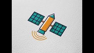 Satellite Vector Icon Adobe Illustrator Tutorial