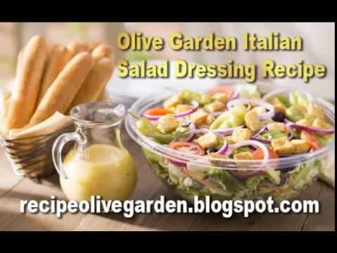 Olive garden italian salad dressing recipe youtube - Olive garden italian salad dressing recipe ...