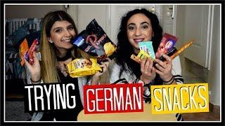 Δοκιμάζουμε γερμανικά σνακ || fraoules22