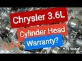 Chrysler 3.6L Engine Warranty Extension Q & A discussion