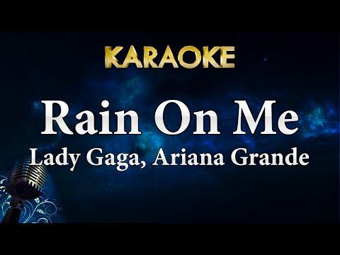 Lady Gaga Ariana Grande - Rain On Me Karaoke Instrumental