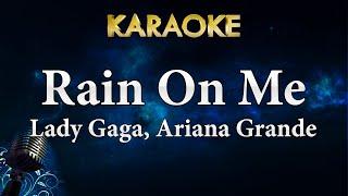 Lady Gaga, Ariana Grande - Rain On Me (Karaoke Instrumental)