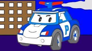 Video Çizgi film - Robocar Poli - Polis arabası, Helikopter, Temizlik arabası (Renkleri öğreniyoruz) download MP3, 3GP, MP4, WEBM, AVI, FLV November 2017