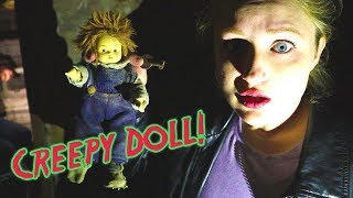 Creepy Doll Found in Basement of Haunted House! Freaky Friday Episode 2! / The Beach House