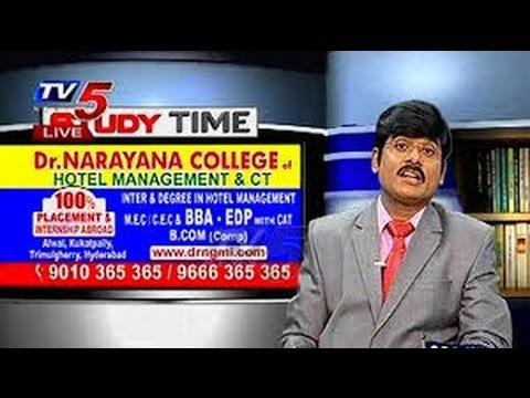 Study Time with Narayana BBA Entrepreneurship Program   TV5 News