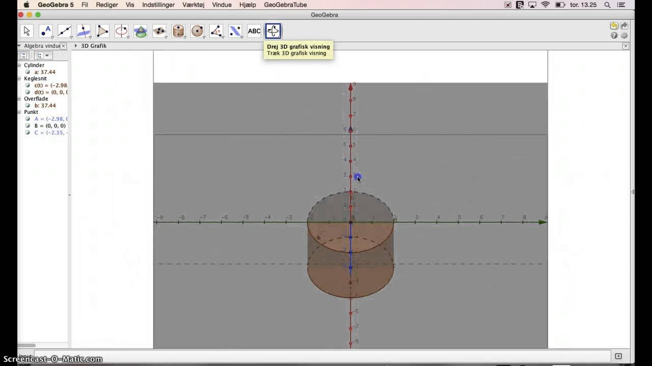 Rumlige figurer i GeoGebra 3D