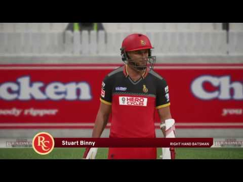 Don Bradman Cricket 17 | SunRisers Hyderabad Vs Royal Challe