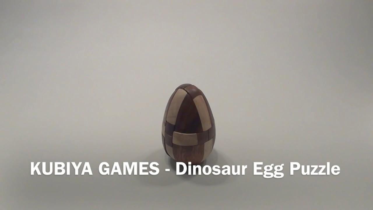 Kubiya GamesDinosaur Egg Kumiki Japanese Mechanical Puzzle