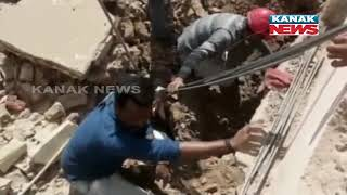 Building Collapse During Construction Work In Jubilee Area In Vadodara