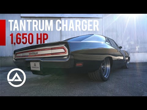 Another Fast & Furious Car...1650 hp Tantrum Charger from Speedkore