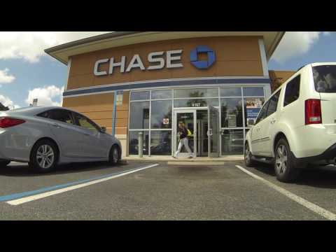 Chase Bank's Cash Money for Toll Roads, Orlando, Florida, AT